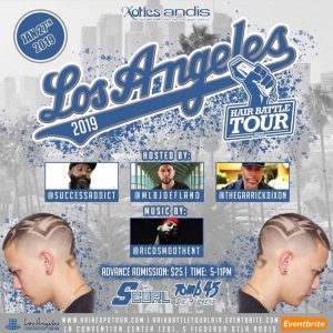Xotics Hair Battle Tour - Los Angeles - Barber Society