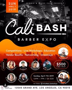 Cali BASH Barber Expo - Barber Society